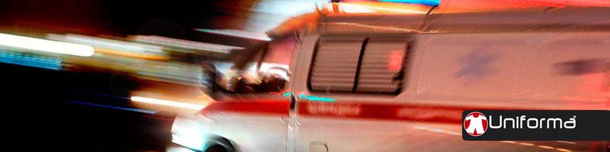 Ropa de trabajo conductores ambulancias y técnicos de emergencias.