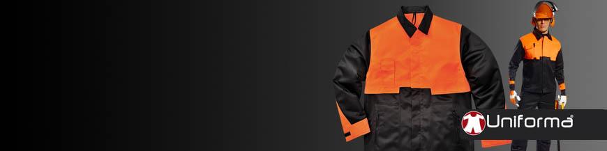 Ropa de trabajo forestal protección contra sierra de cadena ropa de trabajo podador