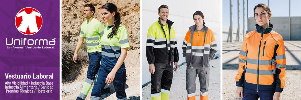Ropa de protección en uniforma. Ropa de trabajo ignífuga, antiestática, arco eléctrico, alta visibilidad en uniforma
